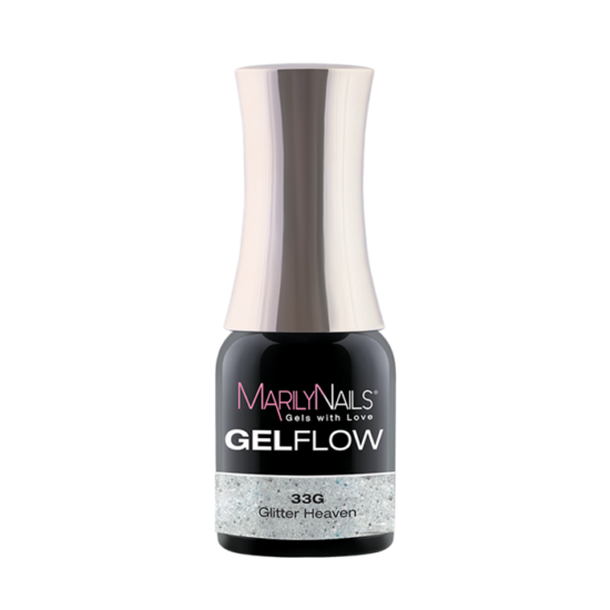 GEL FLOW - GLITTER HEAVEN   33 - 4ML