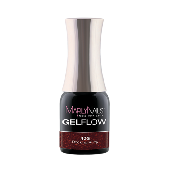 GEL FLOW -ROCKING RUBY   40- 4ML