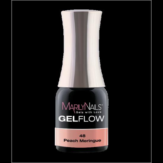 GEL FLOW -PEACH MERINGUE   48- 4ML