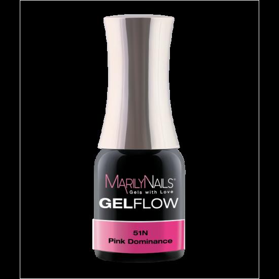 GEL FLOW -PINK DOMINANCE  51- 4ML